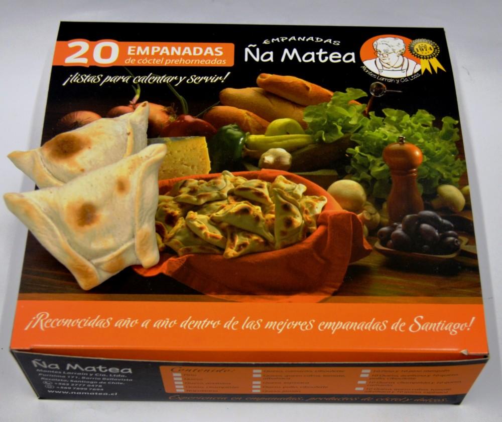 Empanadas de cóctel premium pino con carne picada 20 unidades 40 gr. aprox. cada una